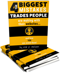 The 4 Biggest Mistakes Trades People Are Making With Their Websites